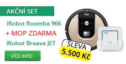 iRobot Set Roomba 966 + Braava JET