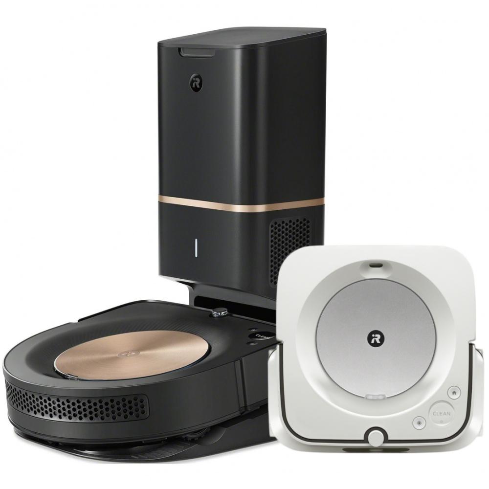 Akční set iRobot Roomba s9+ a Braava jet m6