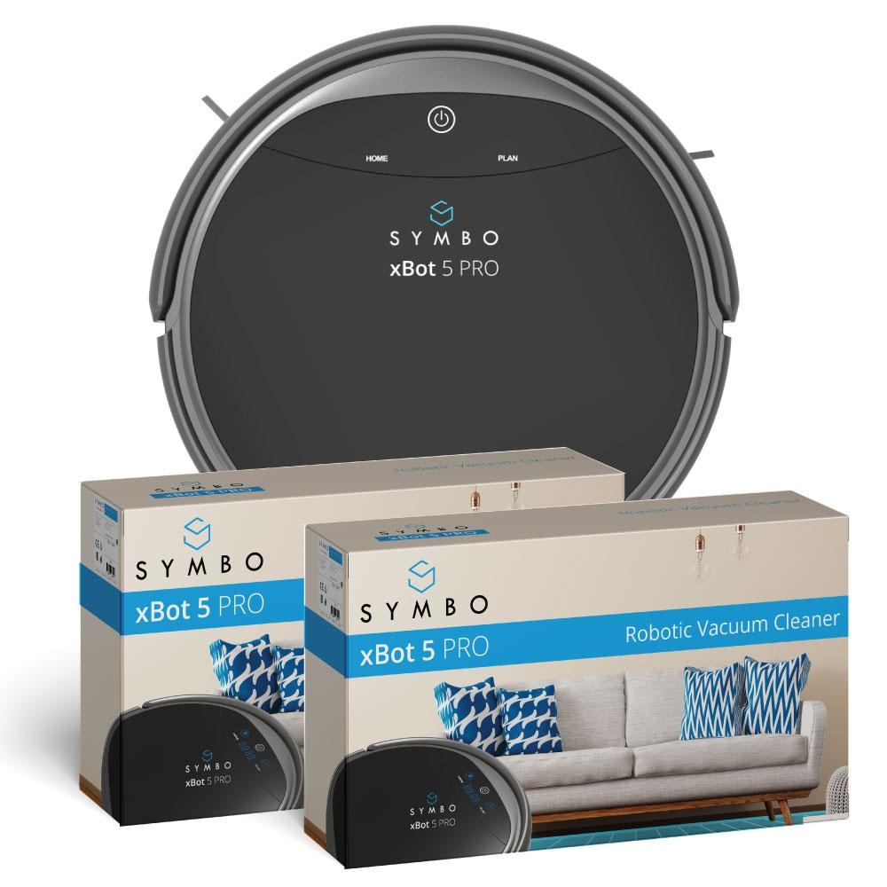 Robotický vysavač a mop 2v1 Akční dual pack Symbo xBot 5 PRO WiFi