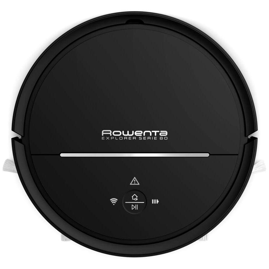 Robotický vysavač a mop 2v1 Rowenta RR7755WH Explorer Serie 80 - black