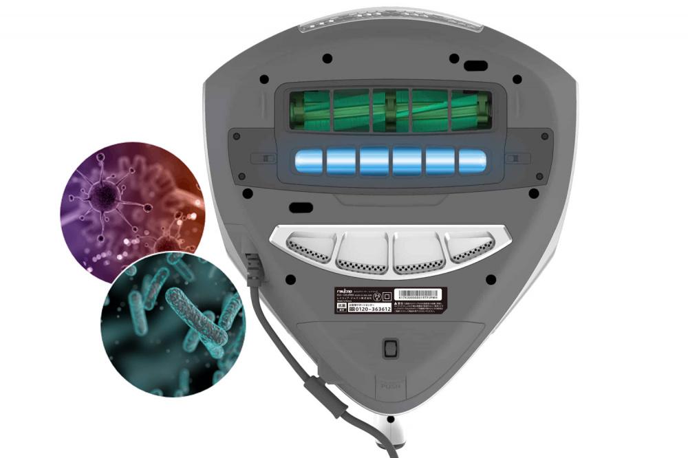 Raycop RS PRO odstraní bakterie