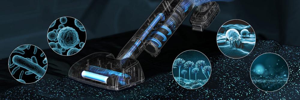 Raycop OMNI AIR odstraní 99,9% bakterií