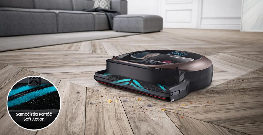 Samsung VR10R7220W1/GE čištění tvrdých podlah