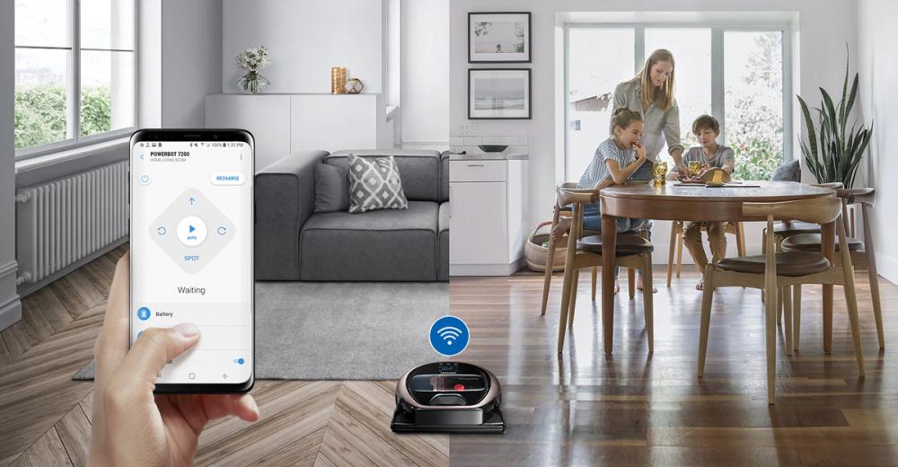 Samsung robotický vysavač dobrý poměr cena výkon