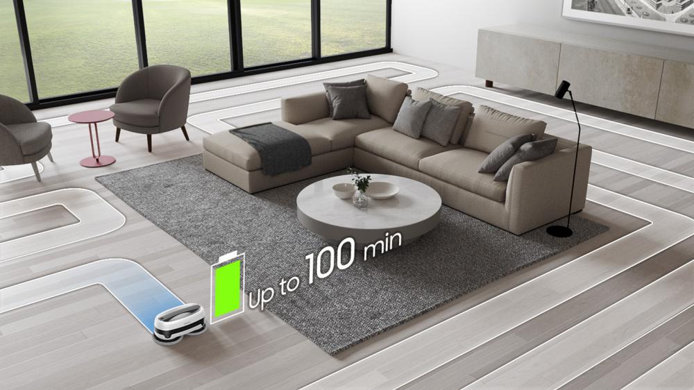 Samsung VR20T6001MW/GE robotický mop