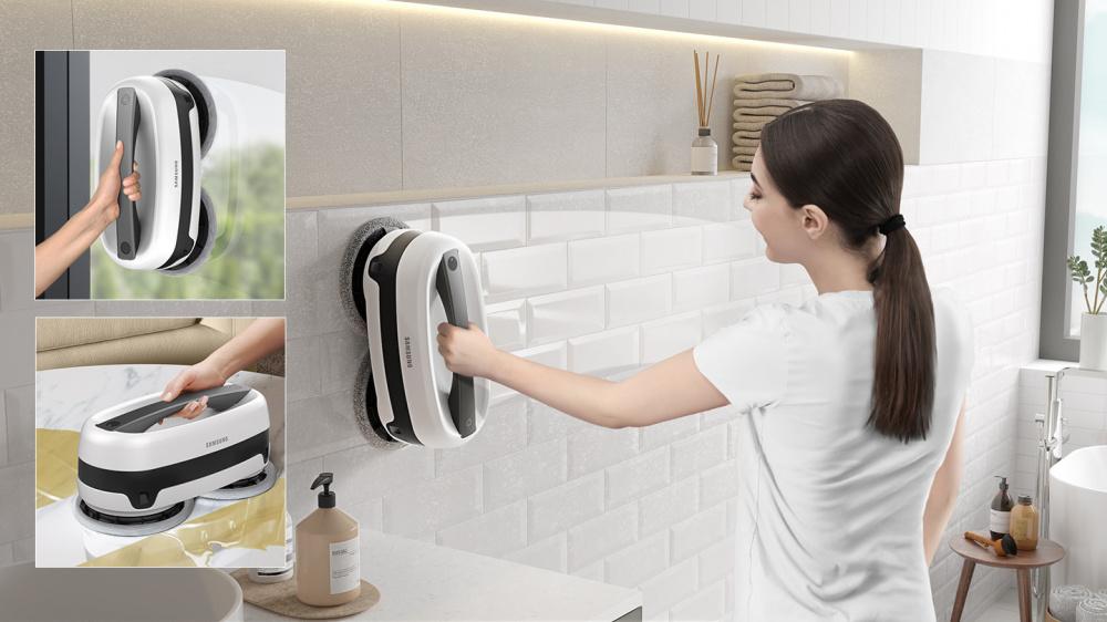 Ruční vertikální mytí samsung vr20t6001mw