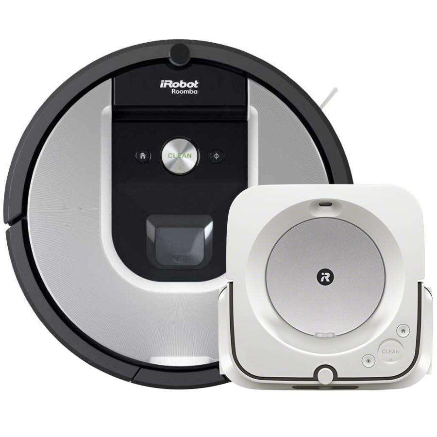Akční set iRobot Roomba 975 a Braava jet m6