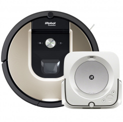 Akční set iRobot Roomba 976 a Braava jet m6