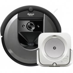 Akční set iRobot Roomba i7 grey a Braava jet m6