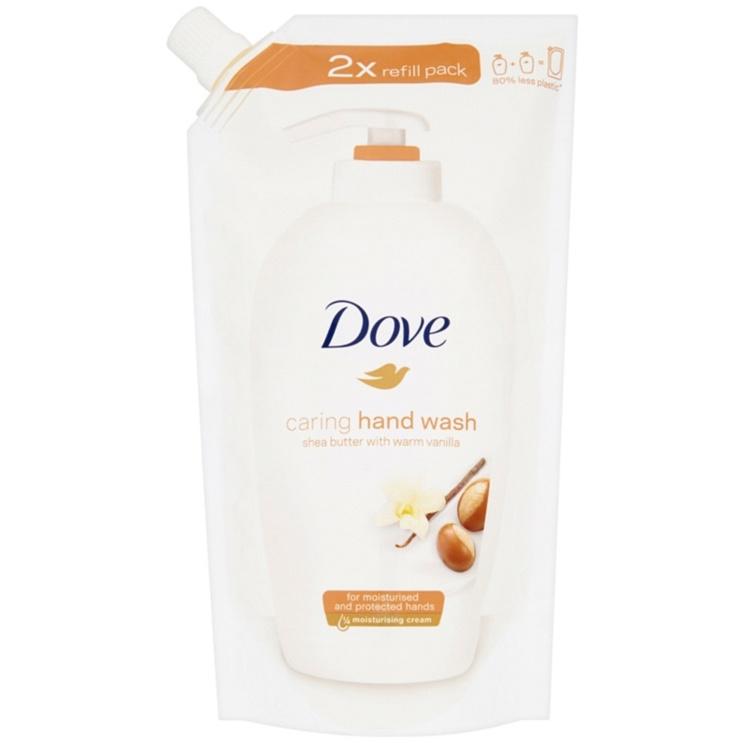 Tekuté mýdlo Dove Shea Butter - náhradní náplň