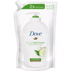 Tekuté mýdlo Dove Cucumber & Green tea - náhradní náplň