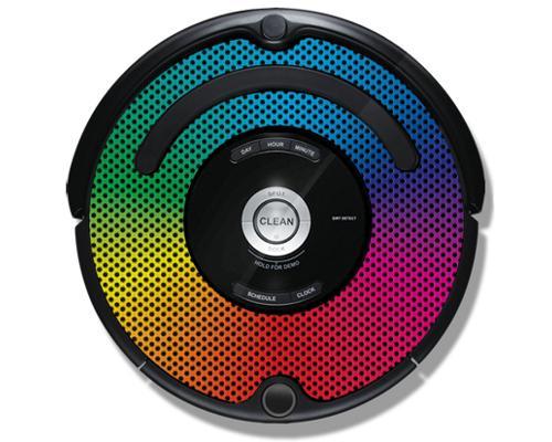 iRobot Roomba 500/600 iDress Digital Rainbow