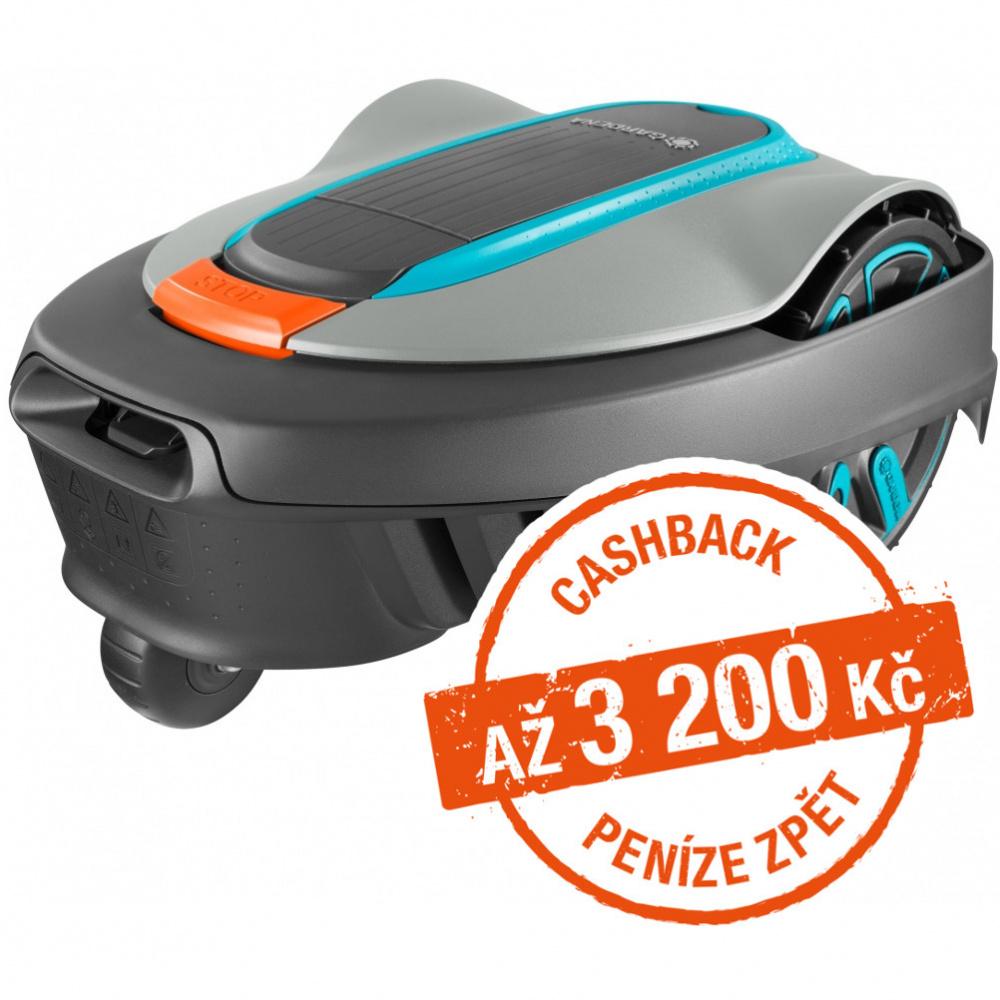 Robotická sekačka Gardena Sileno city 250 - Cashback 2000 Kč