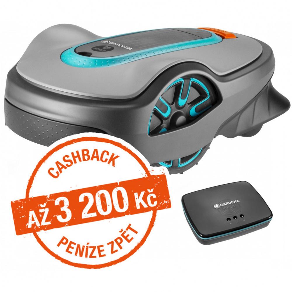 Robotická sekačka Gardena Sileno life 850 smart - Cashback 2800 Kč