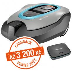 Robotická sekačka Gardena Sileno+ 2000 smart - Cashback 3200 Kč