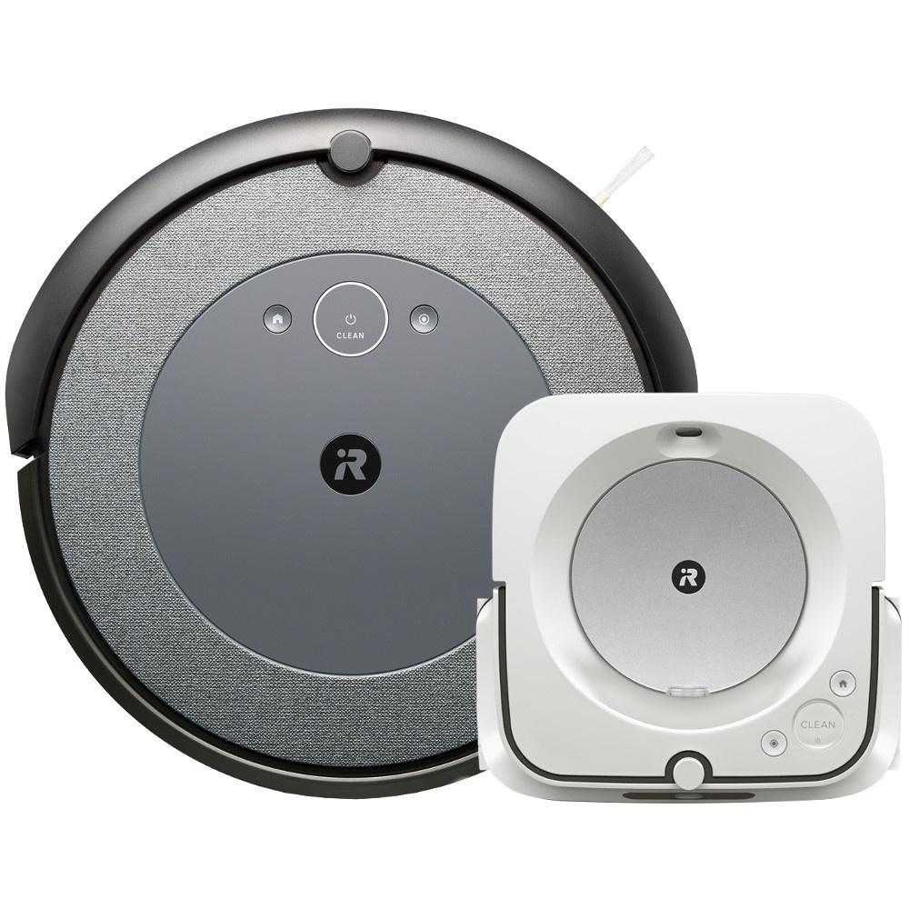 Akční set iRobot Roomba i3 Neutral a Braava jet m6