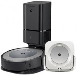 Akční set iRobot Roomba i3+ Neutral a Braava jet m6