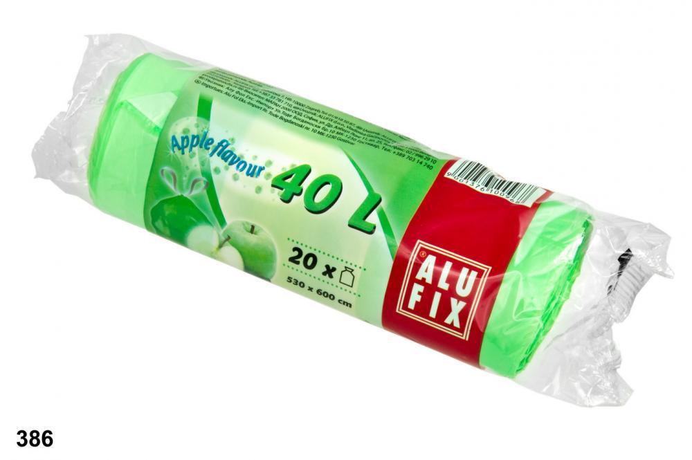 Pytle 40L do odpadkových košů s aroma jablka