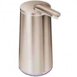 Bezdotykový dávkovač mýdla Simplehuman 295 ml rose gold - nerez ocel