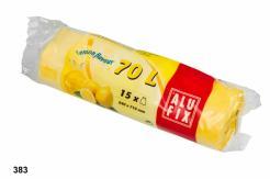Pytle 70L do odpadkových košů s aroma citronu