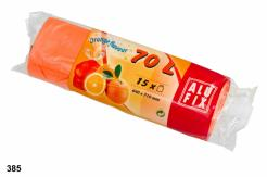 Pytle 70L do odpadkových košů s aroma pomeranče