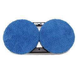 Utěrky z mikrovlákna pro Hobot 168/188 - sada 12 ks - modré