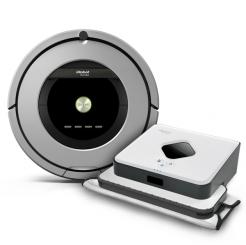 iRobot Roomba 886 + Braava 390