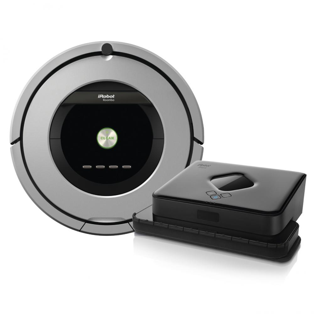 Set iRobot Roomba 886 + Braava 380