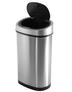 Bezdotykový koš Helpmation OVAL 80 litrů (DZT80-4R) na tříděný odpad