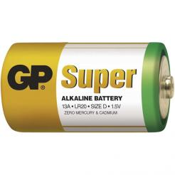 Baterie GP Alkaline D Velké Mono