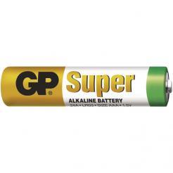Baterie GP Alkaline AAA, mikrotužka