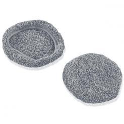 Utěrky z mikrovlákna pro Hobot - sada 12 ks - šedé