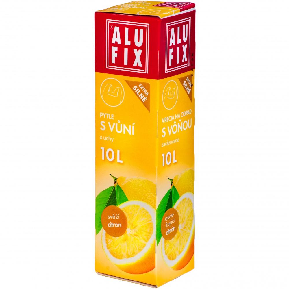 Pytle 10L do odpadkových košů s uchy s aroma citronu