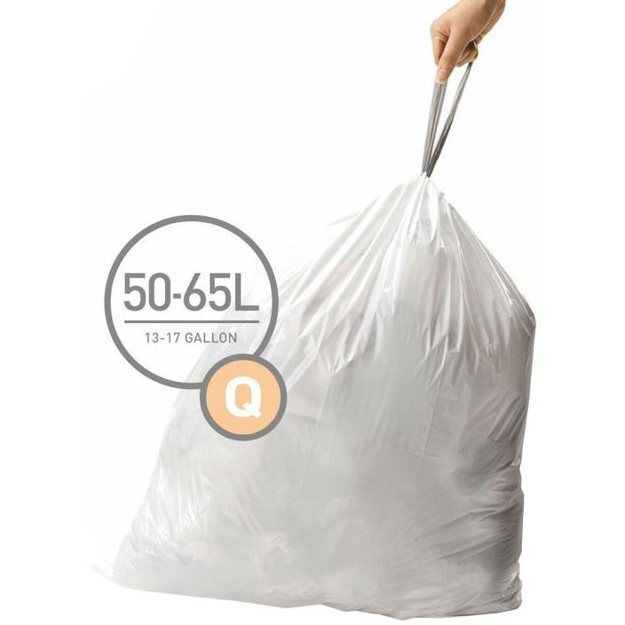 Pytle typu Q do odpadkových košů Simplehuman - 20ks