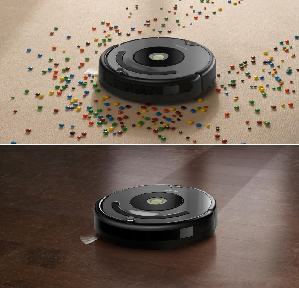 iRobot Roomba 676 podlahy