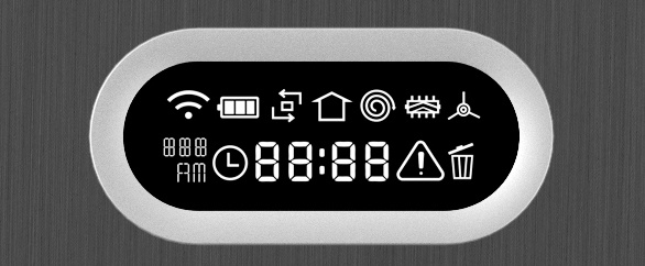 Přehledný LCD displej