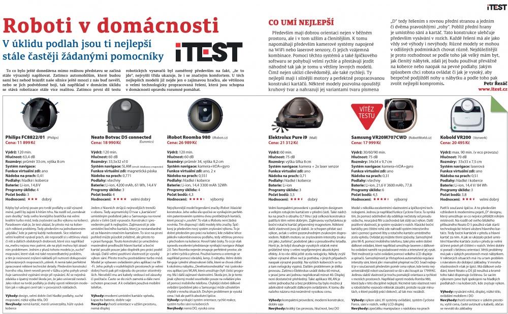 iTest Samsung vítěz kategorie hi-tech