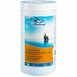 Chemoform chlorové tablety (pomalurozpustné) - 1 kg