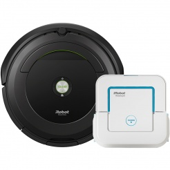 Akční set iRobot Roomba 696 + Braava jet 240