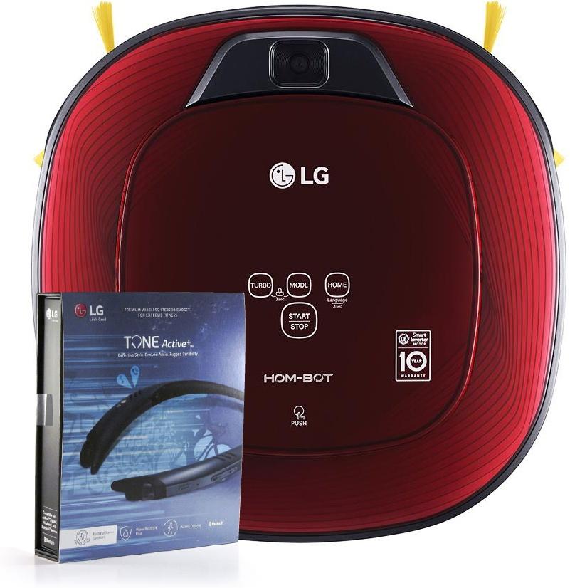 Robotický vysavač LG Hom-Bot VR86010RR