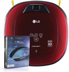 LG Hom-Bot VR86010RR + LGsluchátka ZDARMA