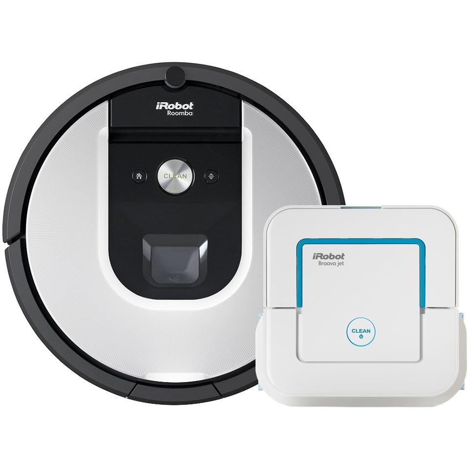 Set iRobot Roomba 965 + Braava jet 240