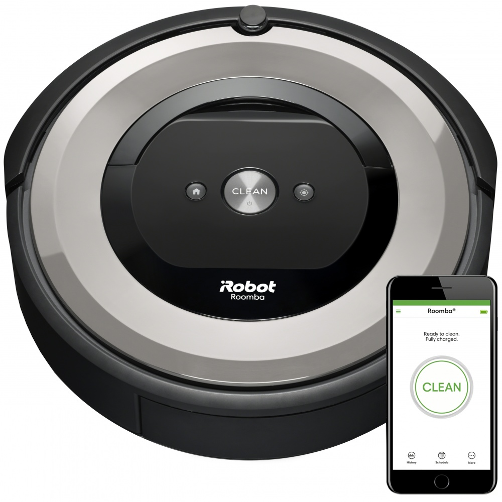 Irobot Roomba E5 Silver Wifi Roboticky Vysavac Cz