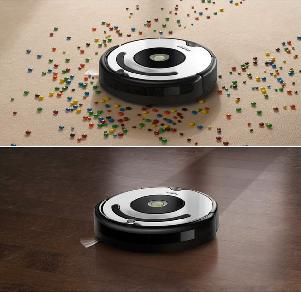 iRobot Roomba 675 podlahy