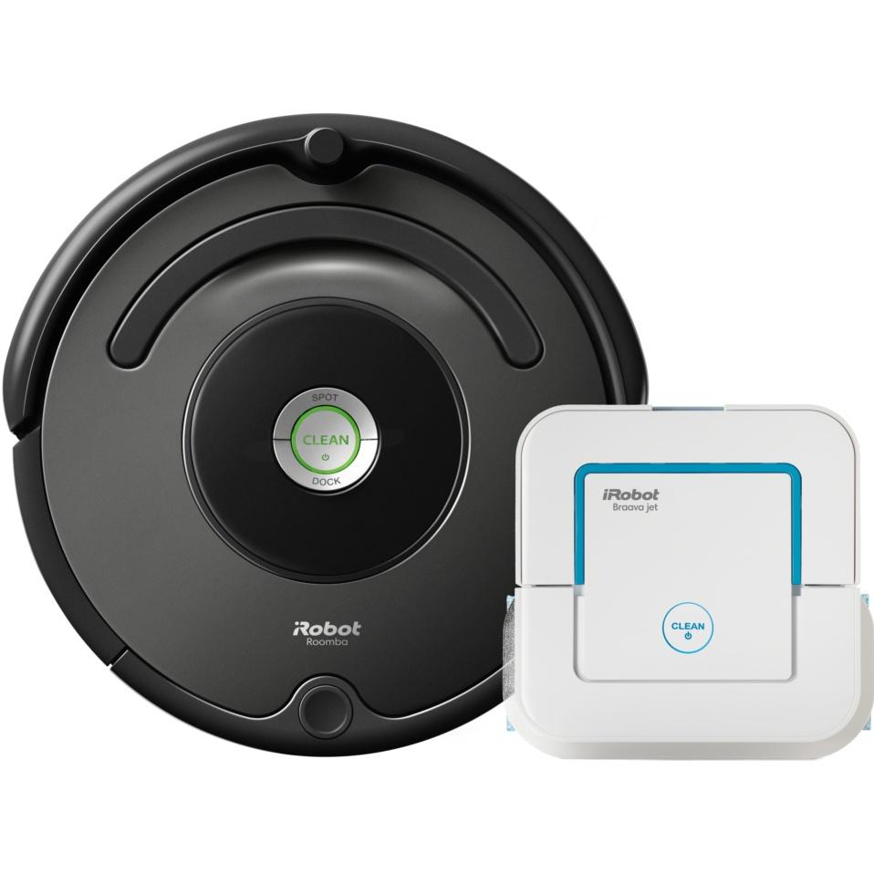 Akční set iRobot Roomba 676 + Braava jet 240