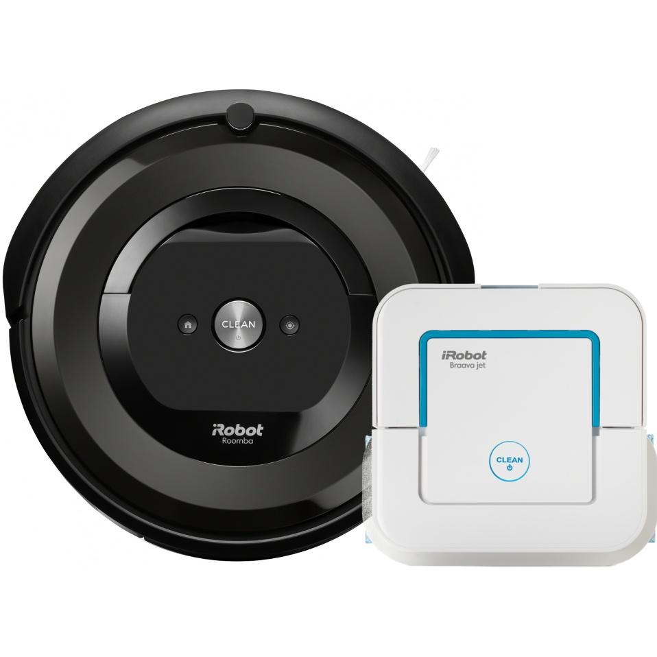 Akční set iRobot Roomba e5 black + Braava jet 240