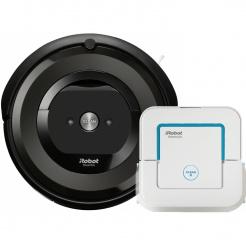 iRobot Roomba e5 black + Braava jet 240