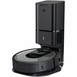 Robotický vysavač iRobot Roomba i7+ silver WiFi