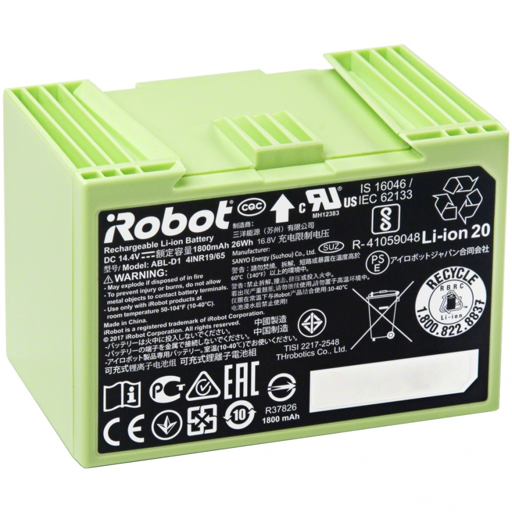 Baterie pro iRobot Roomba série e/i - 1800 mAh