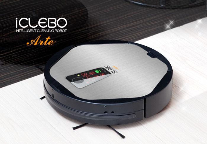 iClebo Arte silver robotický vysavač
